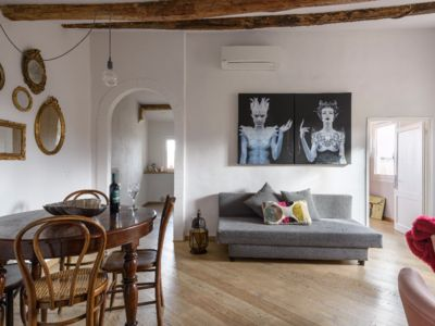 Photo for Very central Elegant Penthouse on the roofs of Siena