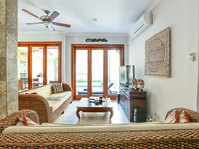 Photo for Spacious Four Bedroom Kuta Villa - Perfect For Families & Groups
