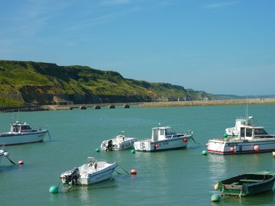 Photo for New sea view 4 * Port Bessin landing beaches Normandy Calvados