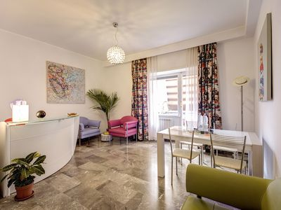 Photo for Rome: SAN PIETRO - VATICAN - BRAND NEW APARTMENT - WIFI - AIR CONDITIONING