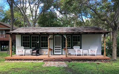 Cabin Location Tour New Braunfels Gruene Floating Comal Guadalupe Rv Site New Braunfels