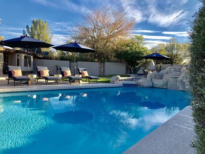 Photo for Santa Fe Modern in the Center of Scottsdale w/ private heated pool