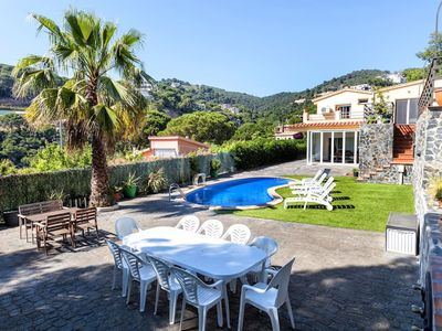 Photo for Canyelles Beach Vila with Swimming Pool