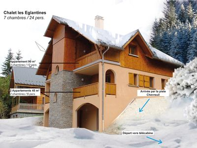 Photo for Oz STATION / Ski Alpe d'Huez Private Chalet / 25 beds Foot Slopes