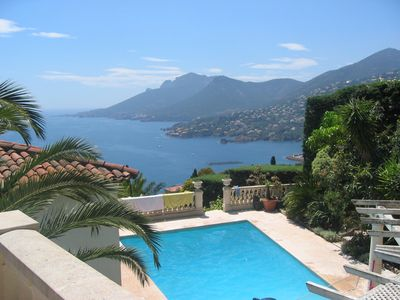 Photo for Beautiful individual villa with spectacular views over the Mediterranean.