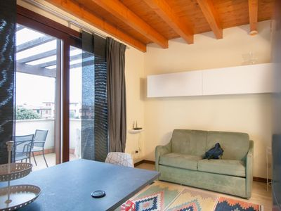 Photo for Two bedroom apartment with pool view