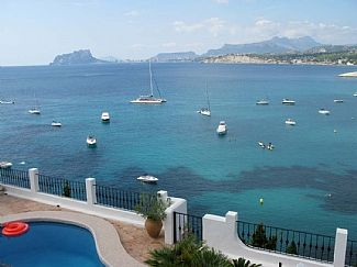 Photo for STUNNING POSITION WITH BEST VIEW ON FRONT LINE PORTET MORAIRA