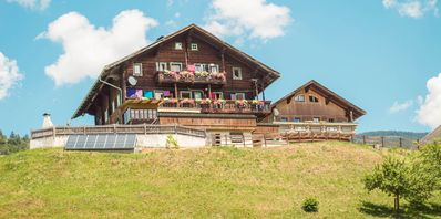 Photo for Mountain Farm; historic wood construction; detached in 900m height on the mountain