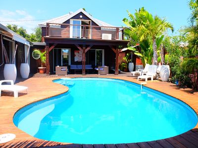 Photo for 5 * LUXURY CHARMING VILLA 150M FROM THE LAGOON