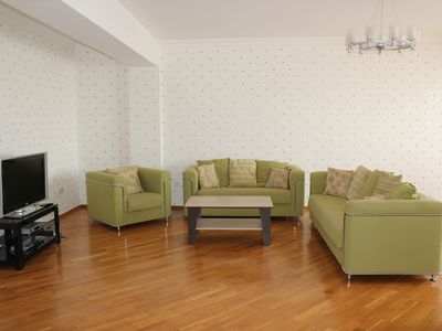 Photo for Fully Furnished 4 Room Apartment With Top View To Downtown Baku And Caspian Sea