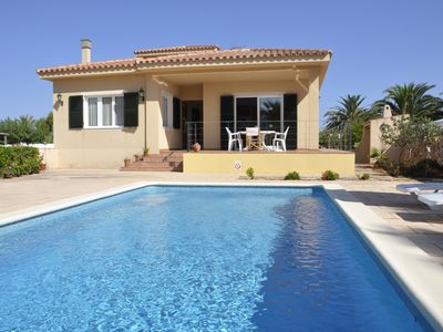 Photo for PRIVATE POOL, SMART TV, FREE WIFI. HOUSE-CHALET VILLA FRANCISCA