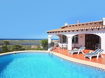 Photo for Monte Pego Holiday Home, Sleeps 8 with Pool, Air Con and Free WiFi