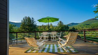 Photo for Luxurious stream-side farmhouse with spectacular mountain views