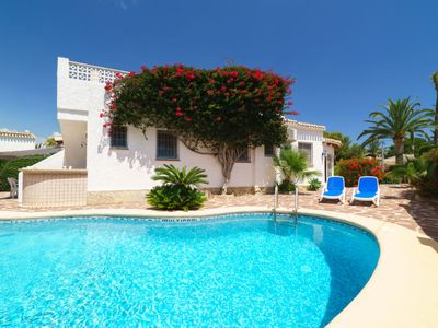 Photo for Vacation home Les Cigales  in Jávea, Costa Blanca - 6 persons, 3 bedrooms
