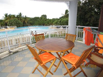 "Photo for Charming apartment, quiet at the luxury residence ""La plantation Saint-Marthe"""