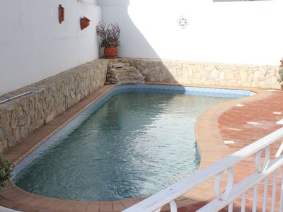 Photo for Attractive villa with Wifi and Pool in a friendly village location