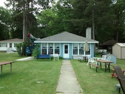 Photo for Summer rental beautiful West Lake, Twin lake MI.