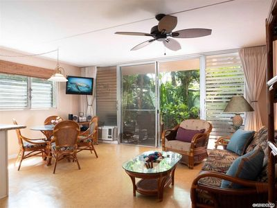 Photo for Private Quiet Paradise Ground floor Walk to Beaches Shops Restaurants Spas more