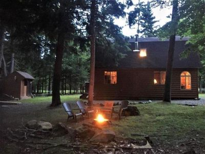 Photo for Beautiful Camp Sleeps 12 with Moosehead Waterfront Access