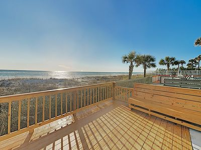 Photo for New Listing! Eastside All-Suite Townhome w/ Beachfront Deck - Steps to Gulf