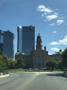 Fort Worth courthouse!