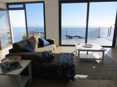 Photo for Apartment Goncalves, dazzling view over sea and mountains