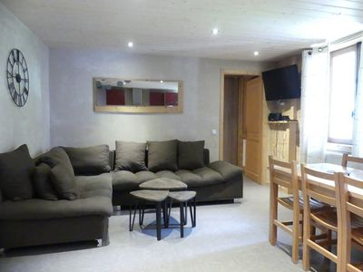 Photo for Gentianes 1 - Apartment for 8 people 3* in the village, near ski slope