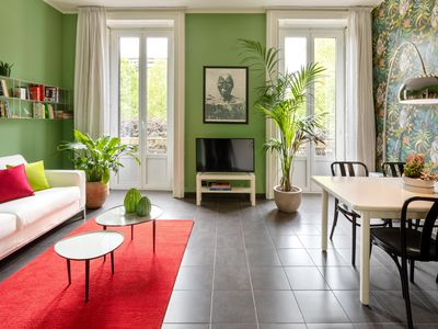 Photo for Glamor and Charming apartment in central Milan