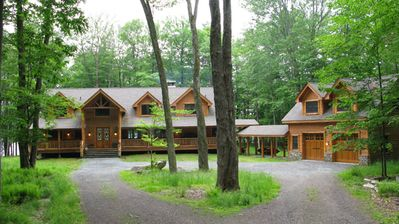 Photo for Luxury, beautiful, lakefront, lodge in secluded, upscale gated community