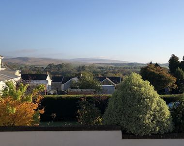 The View of the Brecon Beacons from our Verandah.