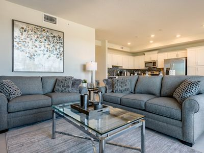 Photo for Luxury on a budget - Storey Lake Resort - Beautiful Relaxing 2 Beds 2 Baths Townhome - 5 Miles To Disney