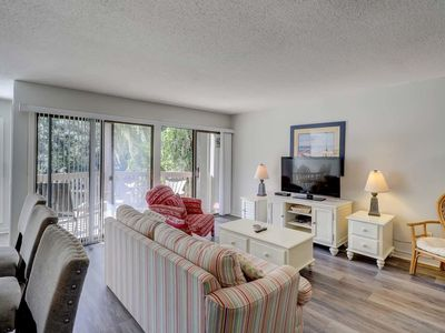 Photo for Center of Sea Pines; View of Lagoon; Walkable to Harbour Town/Beach Club/Market