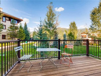 Photo for Large Townhome w/Private Deck, Summer Mountain Views & Loaded w/Entertainment