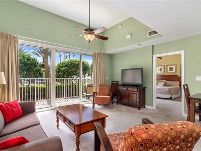 Photo for Shores of Panama 112, 1 Bedroom, Beach Front, Pool Access, Spa, Sleeps 6