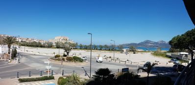 Photo for Luxury apartment overlooking the bay of Calvi and its Citadel for 2 to 4 people