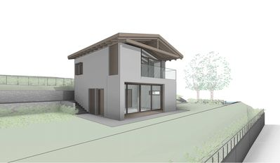 Photo for New 70 sqm luxury chalet with private pool access and small garden