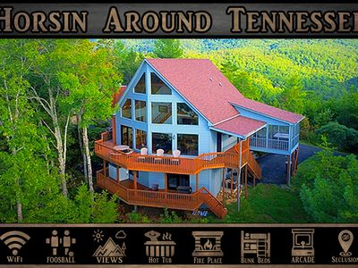 Horsin Around Tennessee} Mountain Views \ Game Room \ Hot Tub \ Wifi