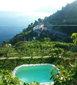 Photo for Amalfi property with pool, Amalfi coast self catered rental,villa with view Amalfi Coast