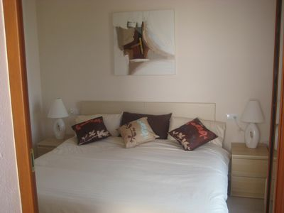 Photo for Luxury  Ground floor 2 bed/bathroom furnished apartment with outside terrace