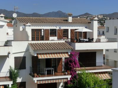 Photo for Bright, fully renovated top-floor apartment with large terraces with some views to the har