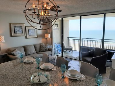 Photo for OCEANFRONT-Sparkling Kitchen-Clean-Fresh-Pools-Hot Tub-WiFi-OCEAN FOREST 1111