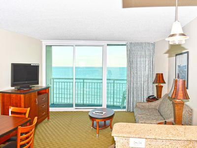 Photo for Stunning Ocean Front Views steps from Boardwalk/Pier Free Wifi!