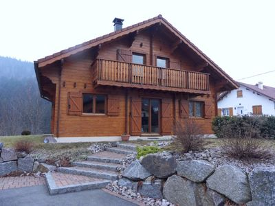 Photo for BEAUTIFUL CHALET with terrace and garage and mountain views BETWEEN TWO LAKES