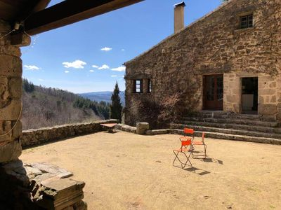 Photo for authentic stone house. Exceptional site, calm and quiet
