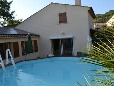 Photo for Villa with pool in Draguignan for 5-6 persons near the sea