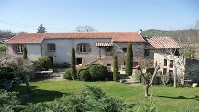 Photo for A beautiful 5 bed restored farmhouse with private pool In stunning countryside