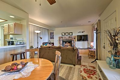 This vacation rental condo in Stateline offers 2 bedrooms and 2 bathrooms.