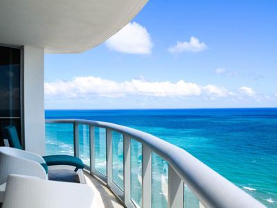 Photo for 2 BEDROOM  OCEAN FRONT CONDOMINIUM WELL LOCATED ON SUNNY ISLES BEACH
