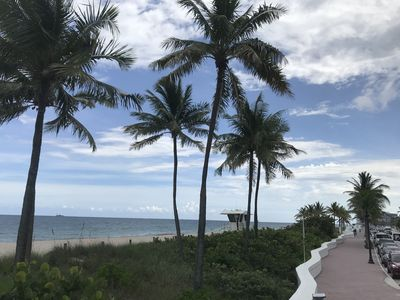 Photo for Tropical Oasis ,few steps from the sand, bicycles, kayaks,beach chairs included