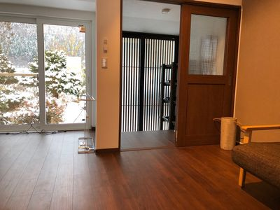 Photo for 1LDK  loft of flooring which renovated an old pri - Fika Furano Minamiougiyama / Furano Hokkaido